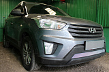 Защита радиатора Hyundai Creta 2016- chrome