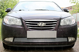 Защита радиатора Hyundai Elantra IV (HD) 2006-2010 chrome