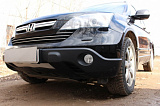Защита радиатора Honda CR-V III 2007-2009 black