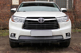 Защита радиатора Toyota HIGHLANDER U50 2013-2016 chrome низ
