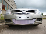 Защита радиатора Nissan Almera 2013- chrome