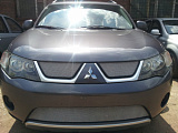 Защита радиатора Mitsubishi Outlander XL 2006-2010 chrome низ