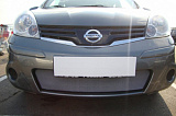 Защита радиатора Nissan Note 2009- chrome