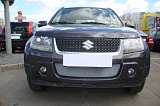 Защита радиатора Suzuki Grand Vitara 2008-2012 chrome