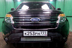Защита радиатора Ford Explorer 2010-2015 chrome