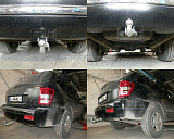 Фаркоп Galia для Jeep Grand Cherokee WK 2005-2010, Jeep Commander 2006-2010
