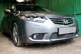 Защита радиатора Honda Accord VIII (рестайлинг) 2011-2013 black