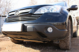 Защита радиатора Honda CR-V III 2007-2009 chrome