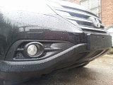 Защита радиатора Honda CR-V IV 2012-2015 2.4 black
