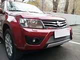 Защита радиатора Suzuki Grand Vitara 2012- chrome