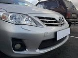 Защита радиатора Toyota Corolla 2010-2013 chrome