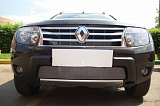 Защита радиатора Renault Duster 2011-2014 chrome