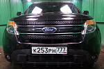 Защита радиатора Ford Explorer 2010-2015 black